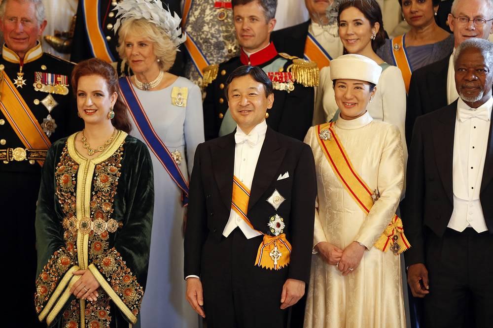 Во время коронации короля Виллема Александра в Амстердаме. Нидерланды. 2013 год