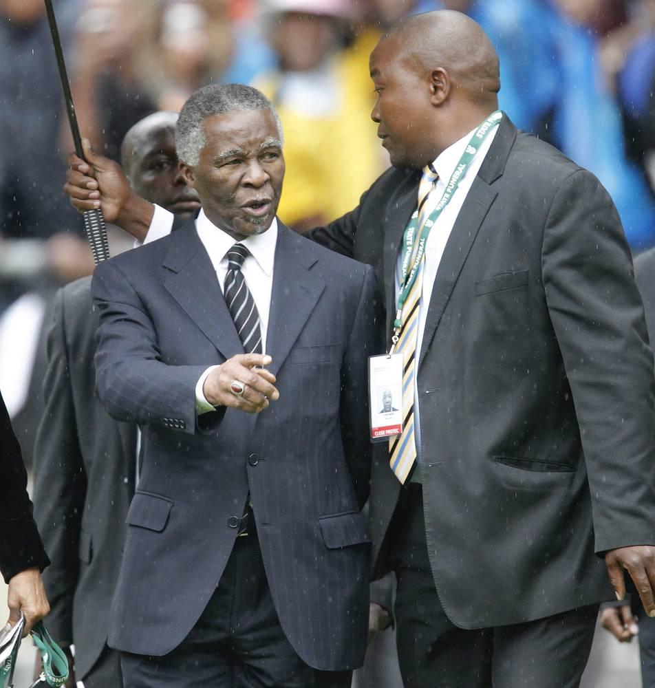 Экс-президент ЮАР Табо Мбеки