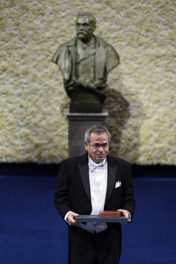 Лауреат Нобелевской премии в области химии Ари Варшел