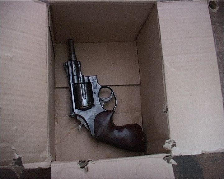 Оружие, изъятое у жителя Екатеринбурга