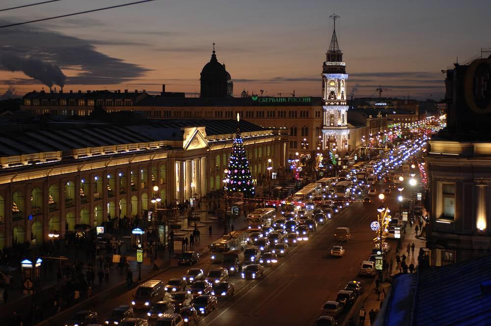 Невский проспект, 2007 год.