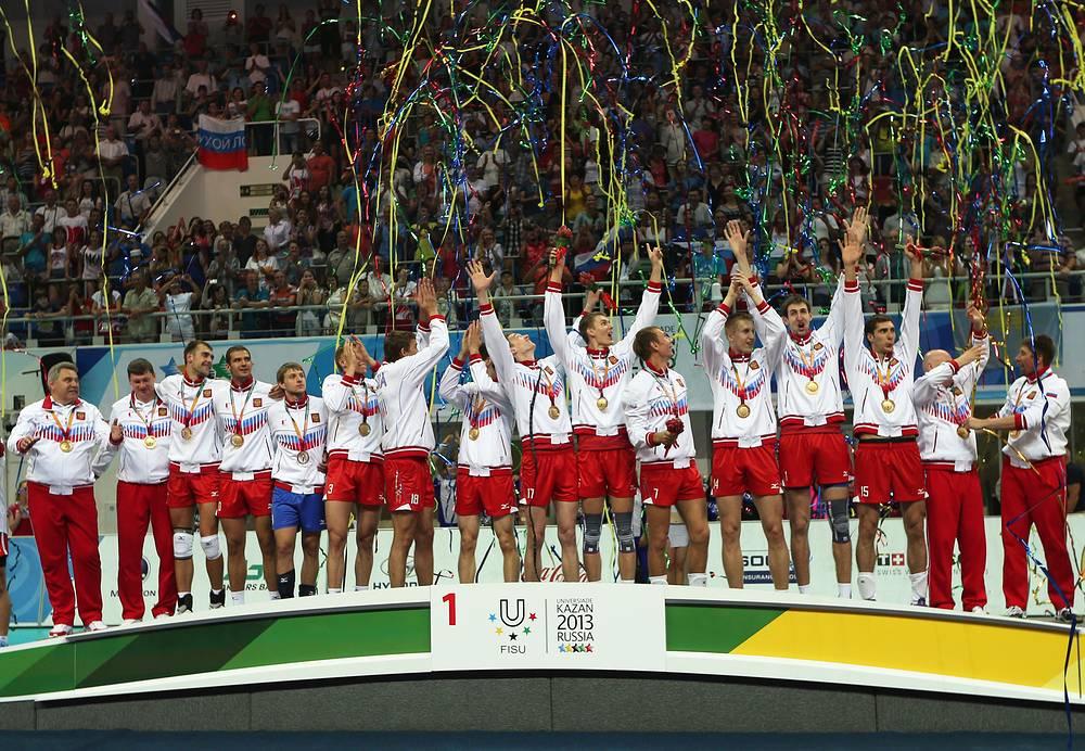 Мужская сборная России по волейболу выиграла турнир Универсиады 2013