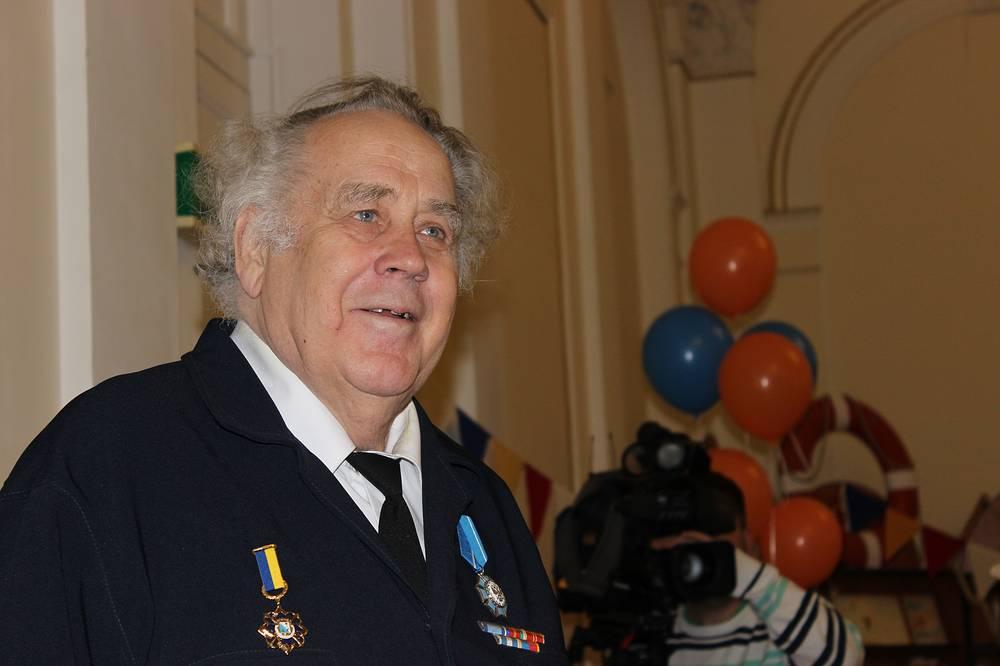 Писатель Владислав Крапивин в день своего 75-летия в Екатеринбурге