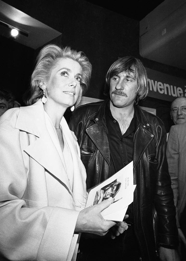 Жерар Депардье и Катрин Денев, 1984