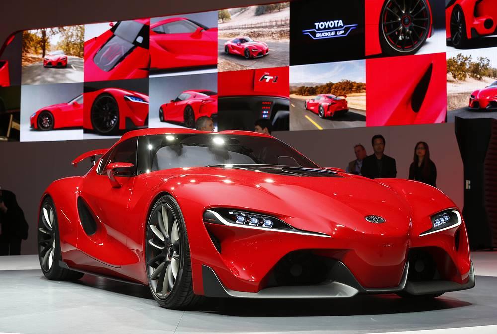 Презентация концепта Toyota FT-1