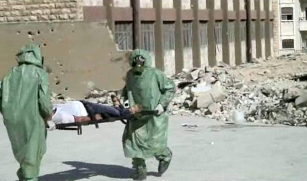 19 марта 2013 г. западные и арабские телеканалы сообщили о применении химического оружия, в результате которого погибли, по разным данным, от 280 до 1700 человек