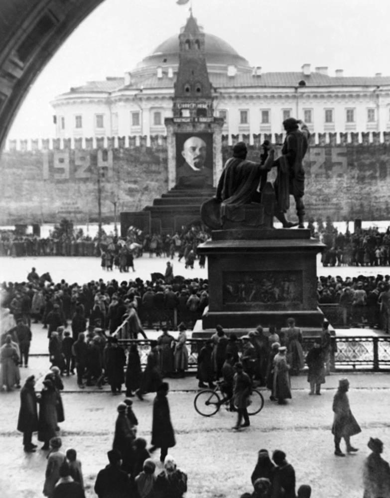 Красная площадь, 1925
