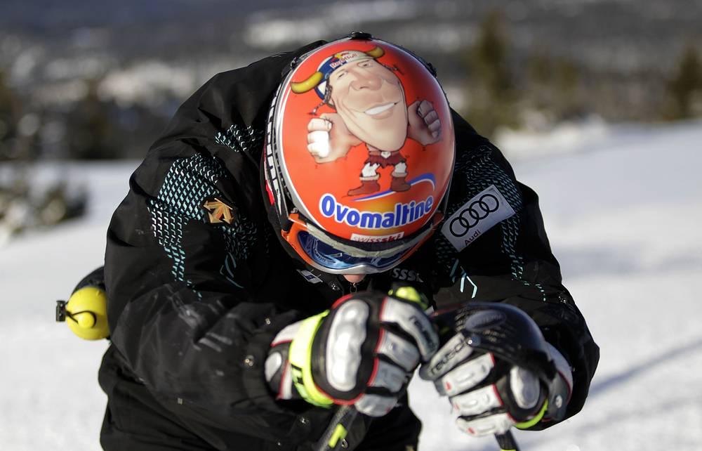 Швейцарский горнолыжник Дидье Куш, 2011