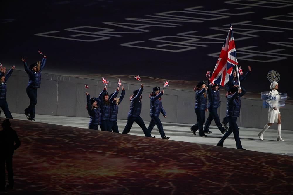 Олимпийская делегация сборной Великобритании