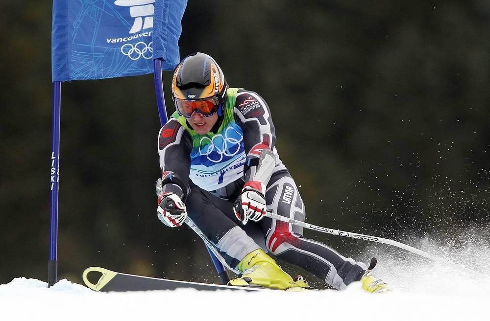 Латвийский спортсмен-горнолыжник Кристапс Звейниекс отпразднует день рождение 15 февраля