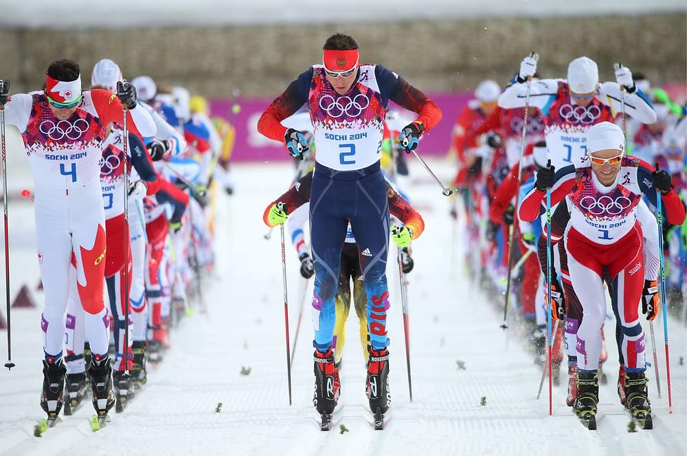 Финальные соревнования по лыжным гонкам на зимних Олимпийских играх