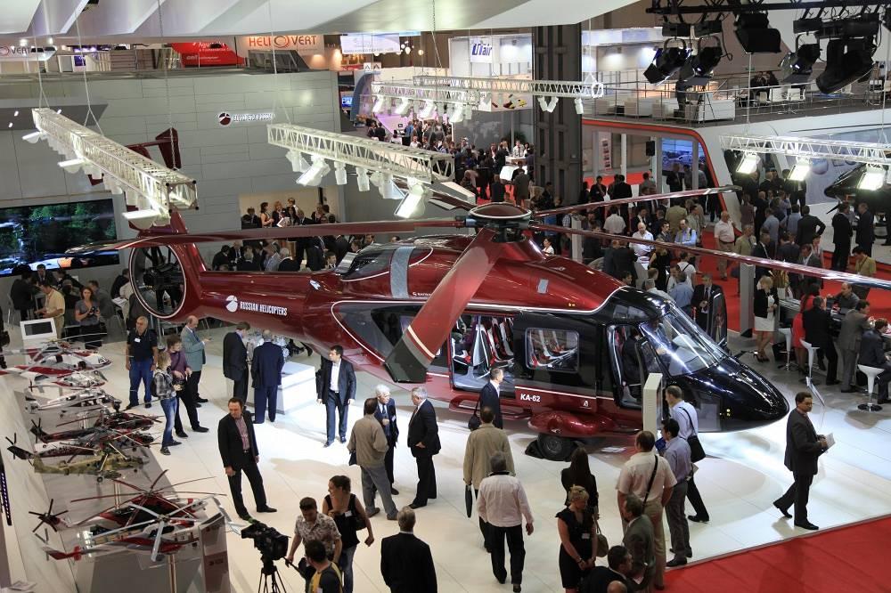 Новый средний многоцелевой вертолет Ka-62