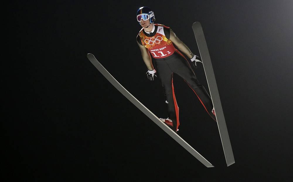 Сборная Германии по прыжкам на лыжах с трамплина в составе Андреаса Ванка, Маринуса Крауса, Андреаса Веллингера и Северина Фройнда стала чемпионом Олимпийских игр в Сочи в командном турнире по прыжкам на лыжах