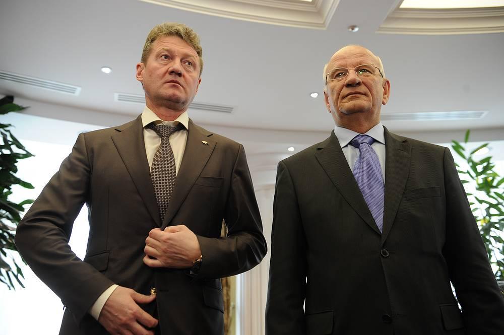 Гендиректор УГМК Андрей Козицын и губернатор Оренбургской области Юрий Берг подписали соглашение о социально-экономическом партнерстве между регионом и компанией