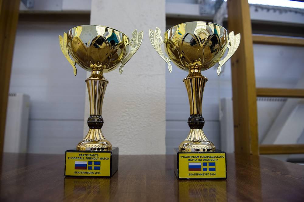 Главные трофеи турнира