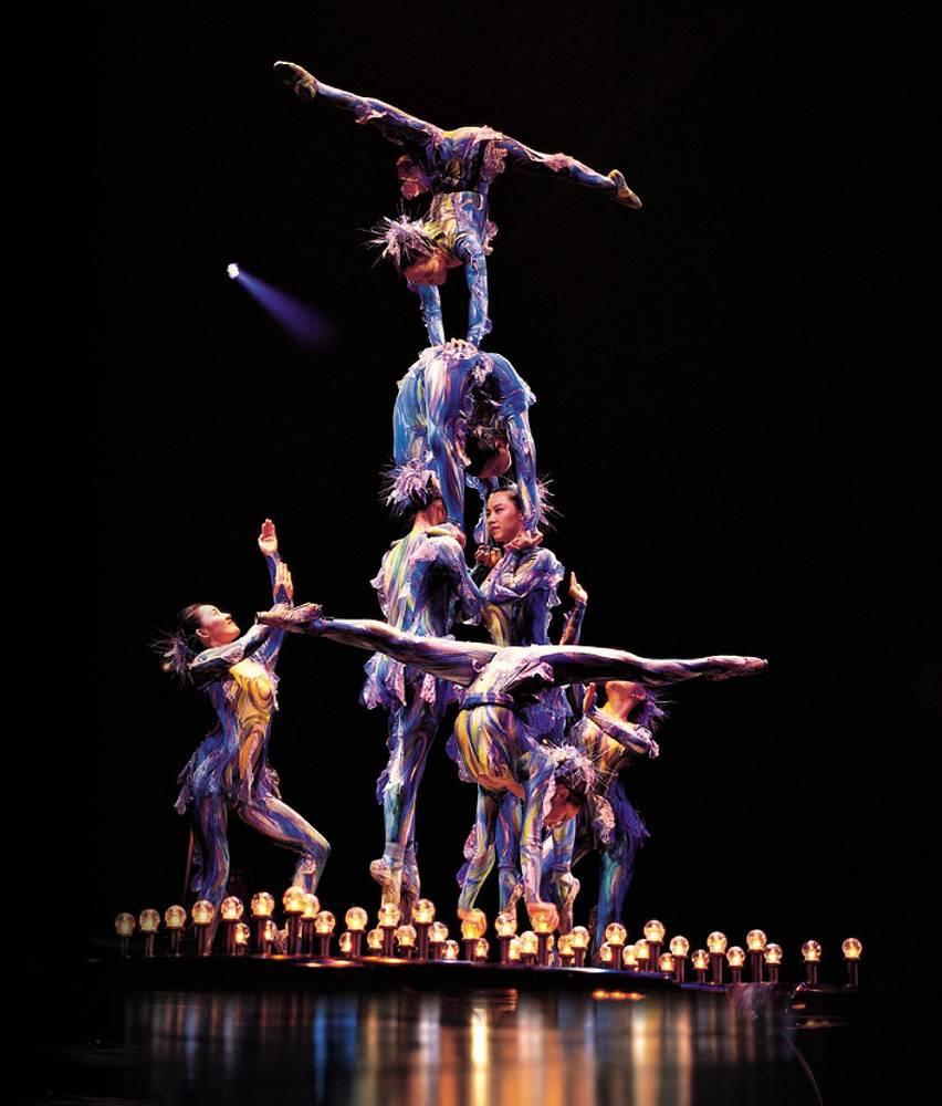 Зрителями шоу Cirque du Soleil уже стали более 100 млн людей. На фото: 2004 год, Мадрид, Испания
