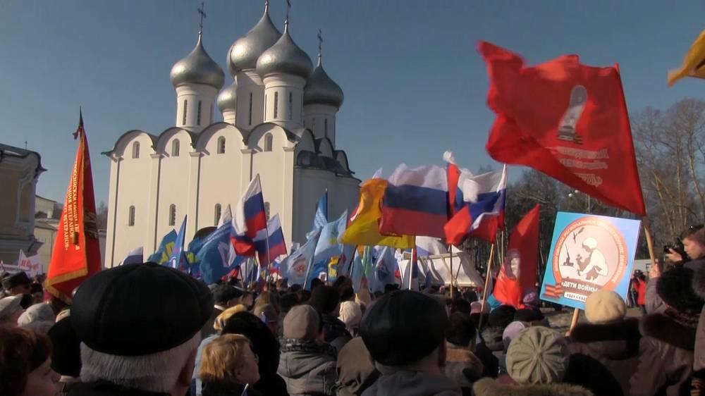 Митинг в Вологде