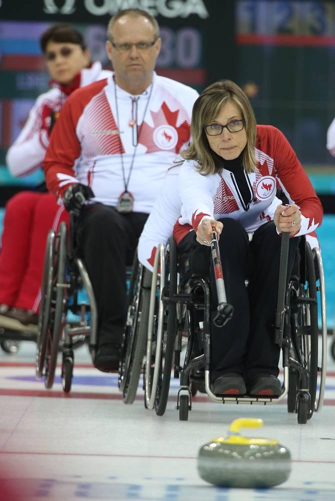 Канадские спортсмены Деннис Тиссен и Соня Годе