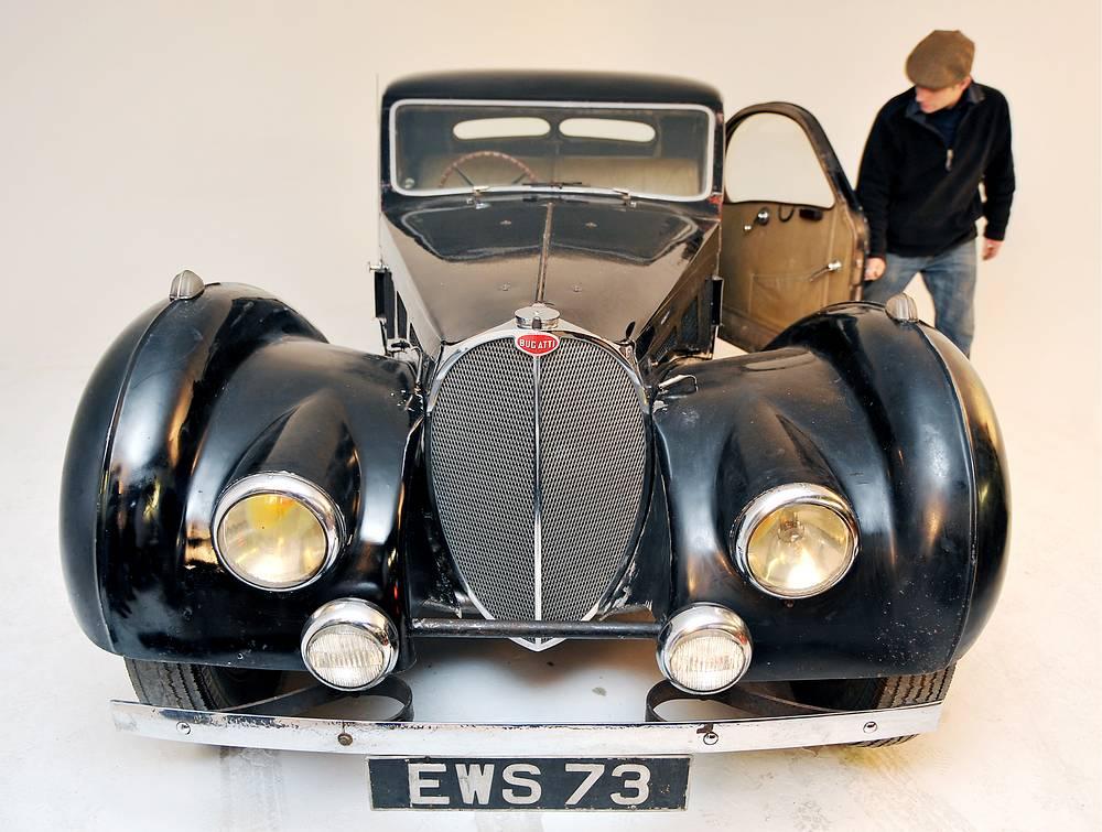 Автомобиль Бугатти 1937 года выпуска