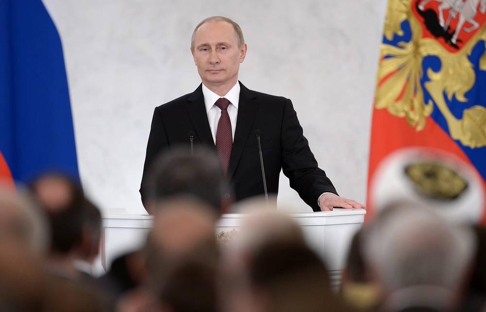 Россия не могла не откликнуться на просьбу Крыма о помощи, сказал президент России