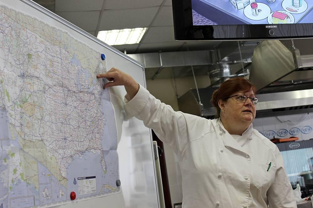 Сара Лабенски, шеф-повар, основательница Института кулинарного искусства в Университете Миссисипи