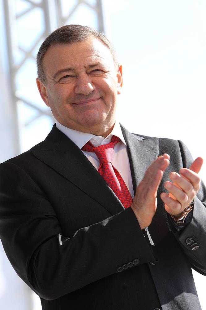 Аркадий Ротенберг - председатель совета директоров СМП Банка, в отношении которого администрацией президента США также введены санкции