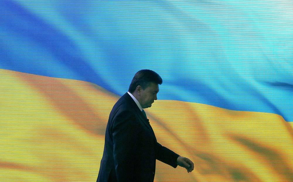Президент Украины Виктор Янукович. Санкции введены администрацией президента США