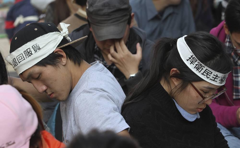 Соглашение о торговле услугами Тайбэй и Пекин подписали в июне прошлого года, однако оно до сих пор не ратифицировано