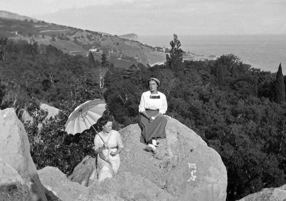 Отдых в Крыму, 1913 год