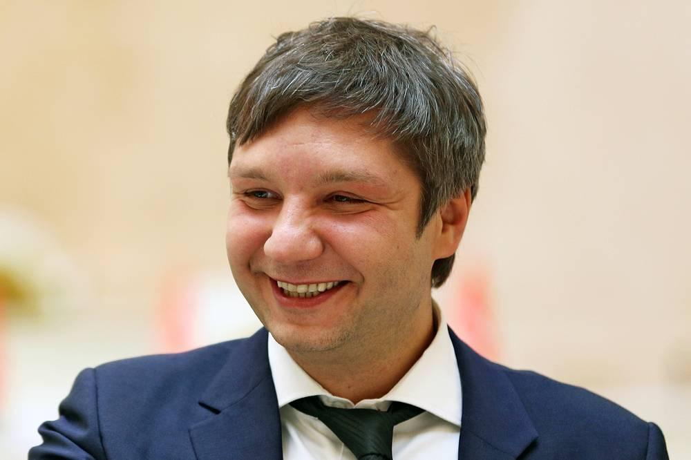 Депутат Законодательного собрания Петербурга Константин Смирнов