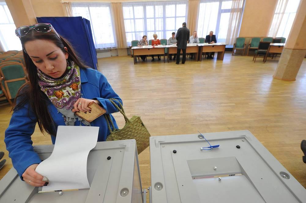 Жители Новосибирска выбирают мэра
