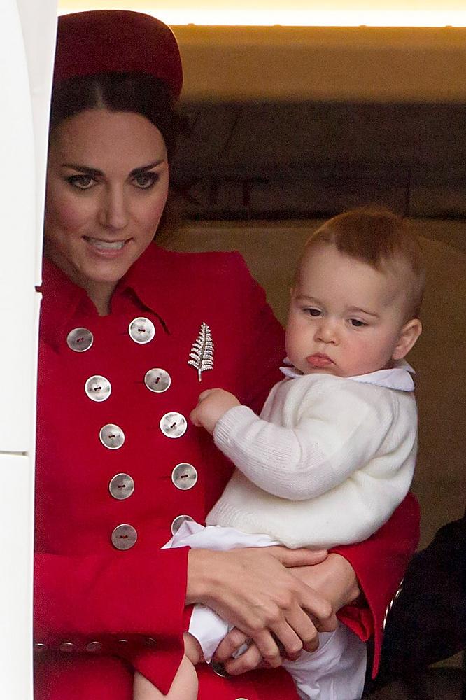 Для принца Георга это второй случай появления на публике