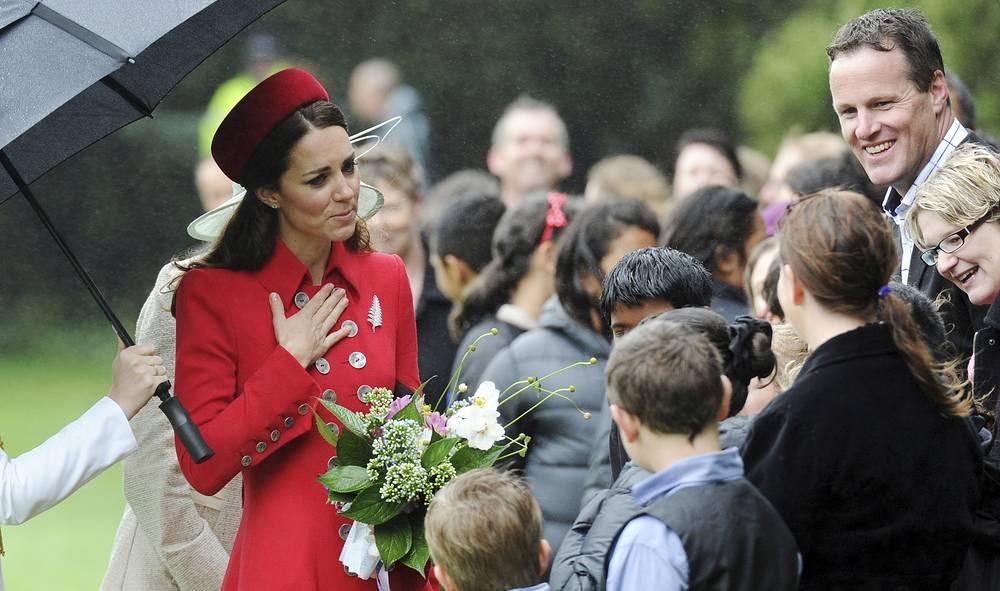 Герцоги Кембриджские повторяют визит 1983 года, который совершили принц Чарльз и его супруга Диана