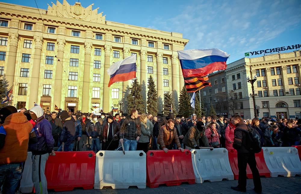 Харьков, 7 апреля 2014 года