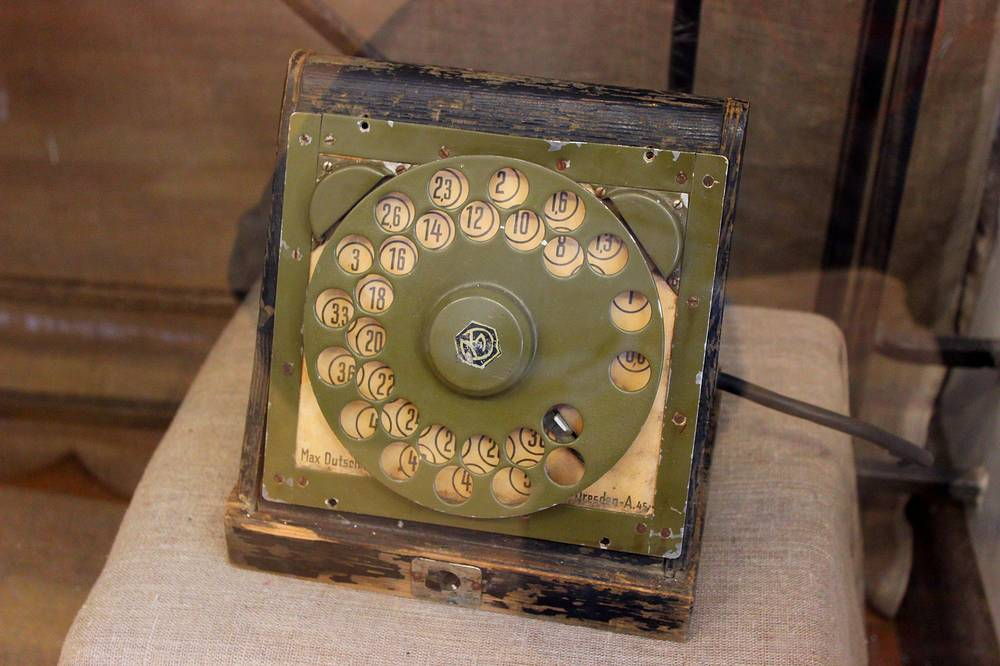 Трофейный прибор для кодирования телеграфных сообщений, Германия.