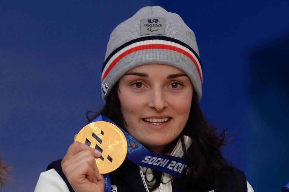 Французская горнолыжница Мари Боше