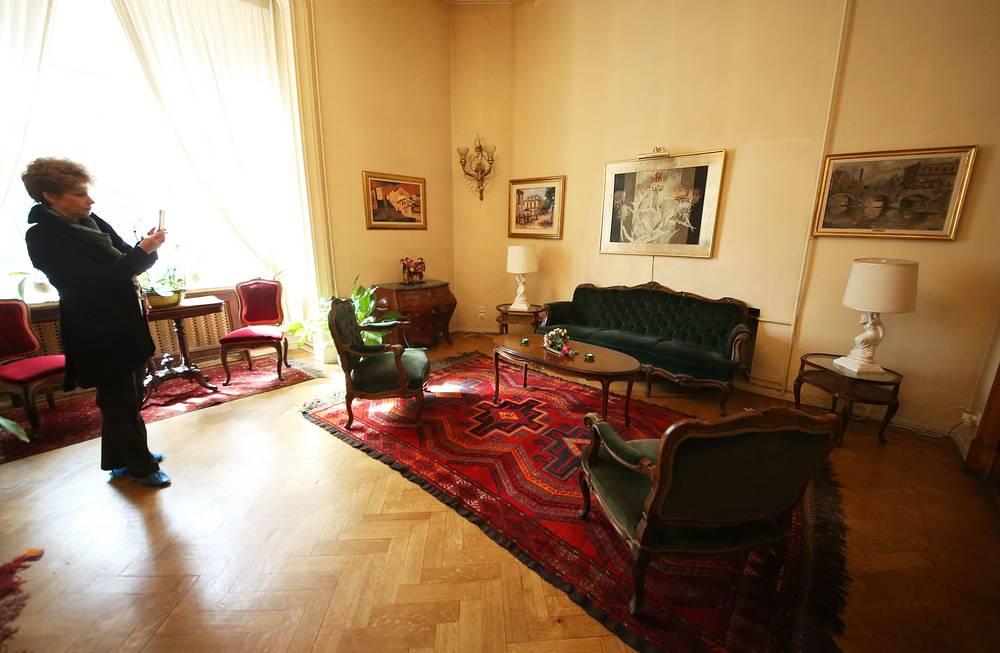 Интерьер резиденции посла Уругвая в Москве