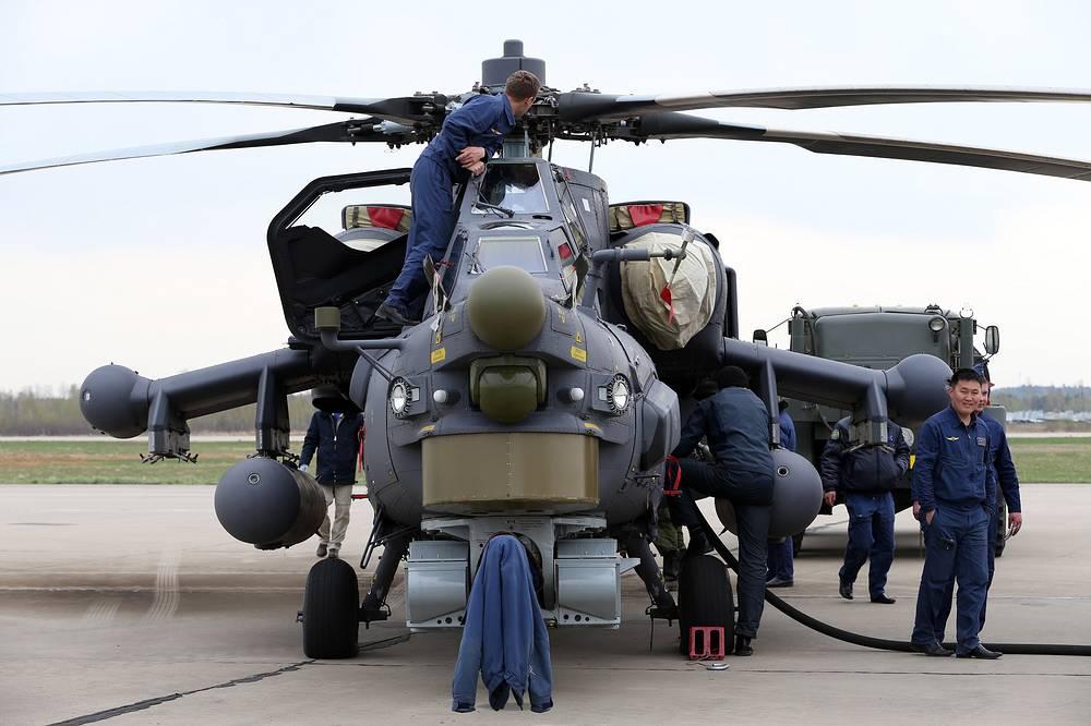Вертолет Ми-28