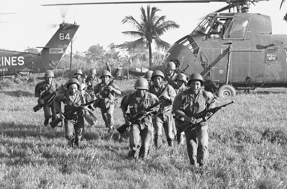 Войска южновьетнамской армии, 1962 год