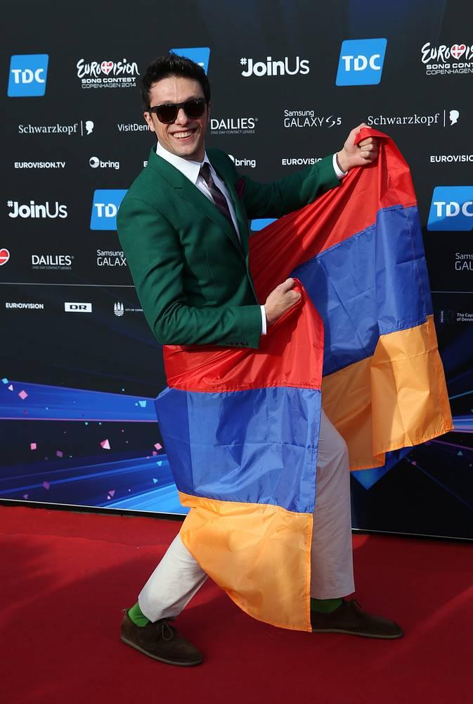 Участник от Армении Aram MP3 (Арам Саркисян)