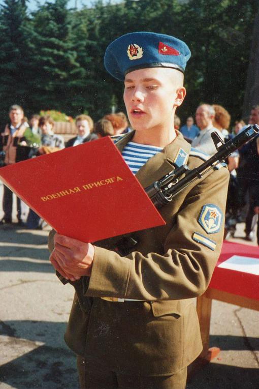Присяга РВВДКУ. 1990 год