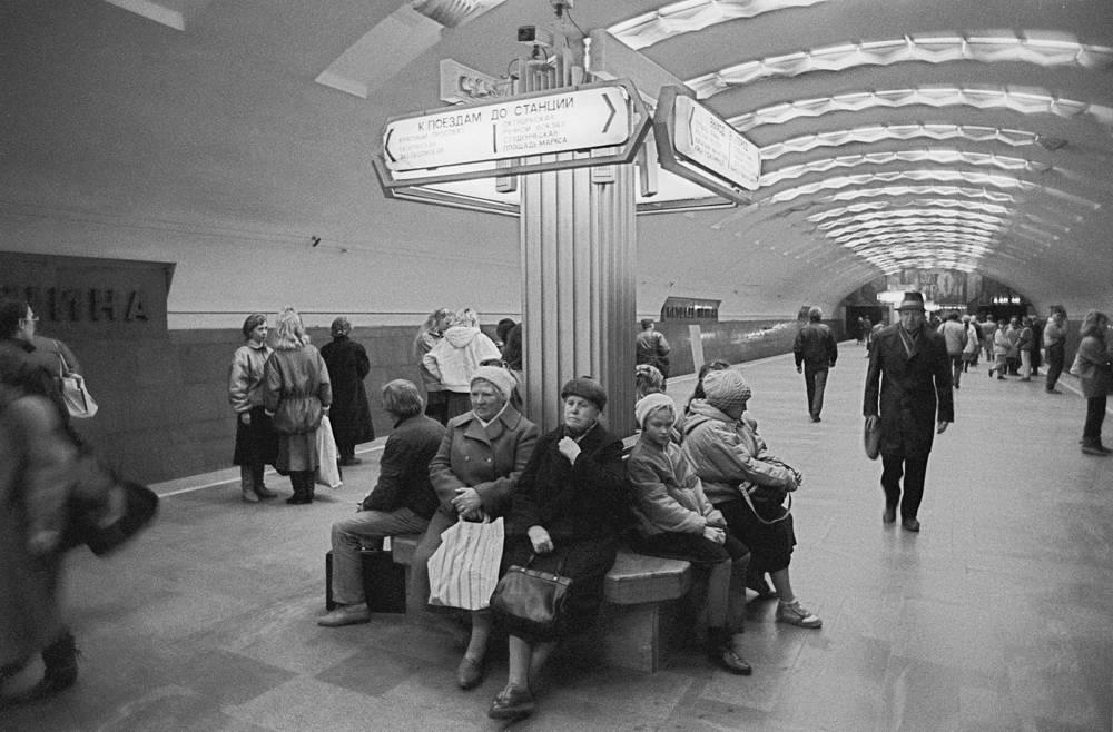 Но двери для пассажиров новосибирская подземка открыла только 7 января 1986 года.