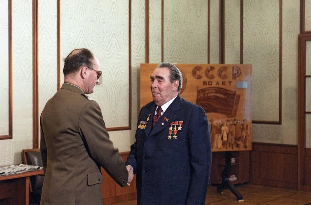 Встреча Леонида Брежнева и Войцеха Ярузельского, 1982 год