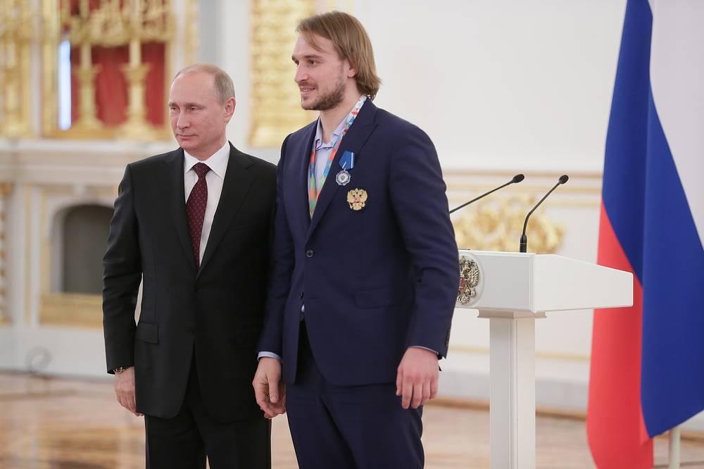 Владимир Путин и Андрей Зубарев