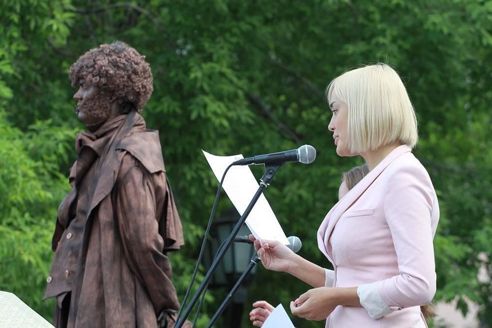 Пушкинский день в парках Новосибирска
