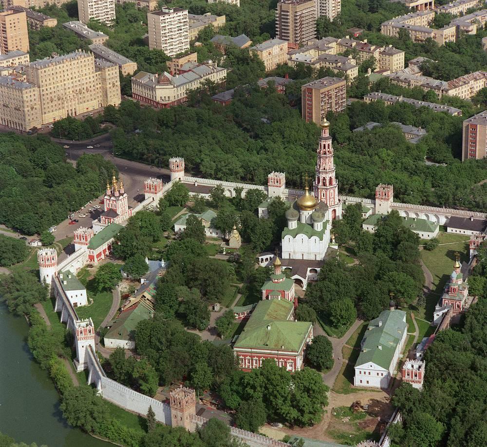Панорама Новодевичьего монастыря, 1992 год