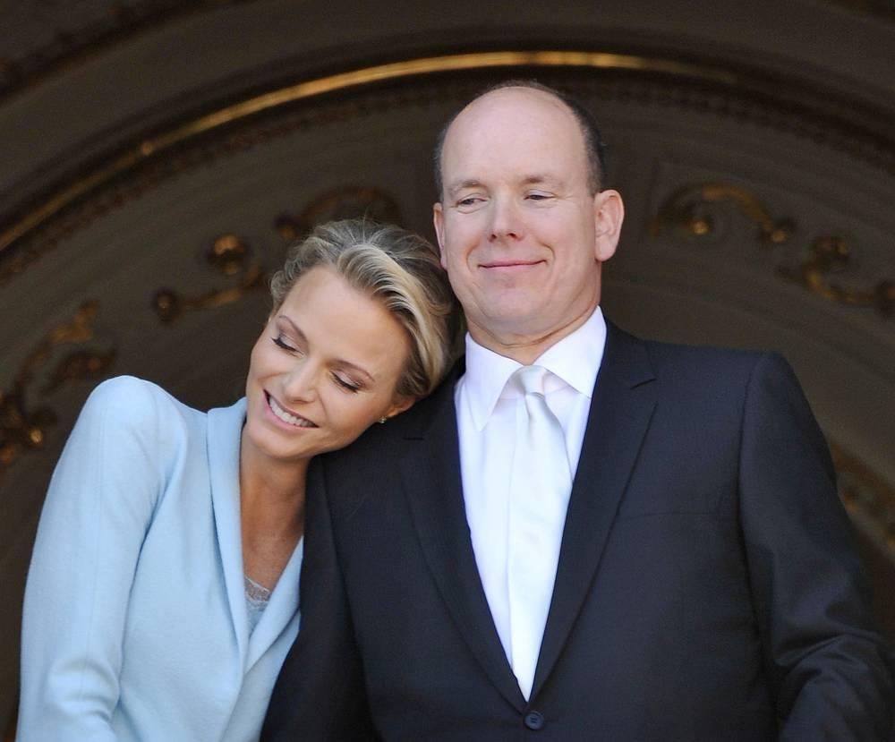 Правитель Монако Альбер II и его супруга Шарлен ждут ребенка