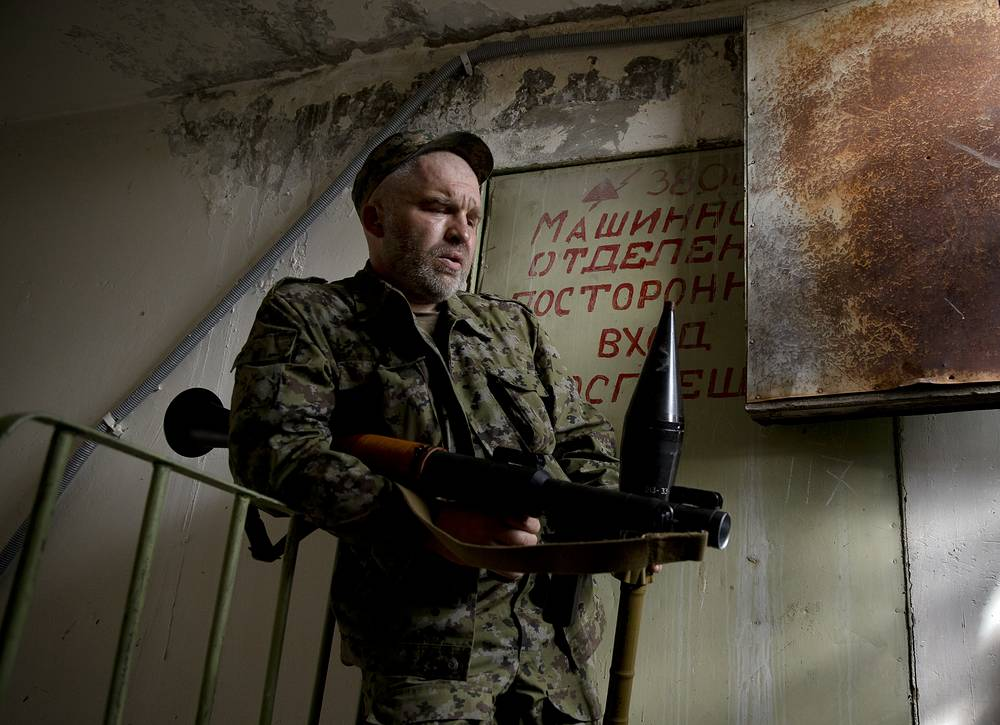После авиаудара пресс-служба Объединенной армии юго-востока сообщила, что спецсигналы оповещения о воздушных атаках будут работать в Луганске со вторника, 3 июня