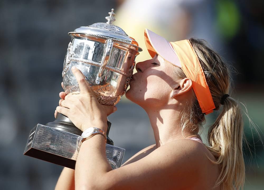 Мария Шарапова выиграла Roland Garros второй раз за свою карьеру
