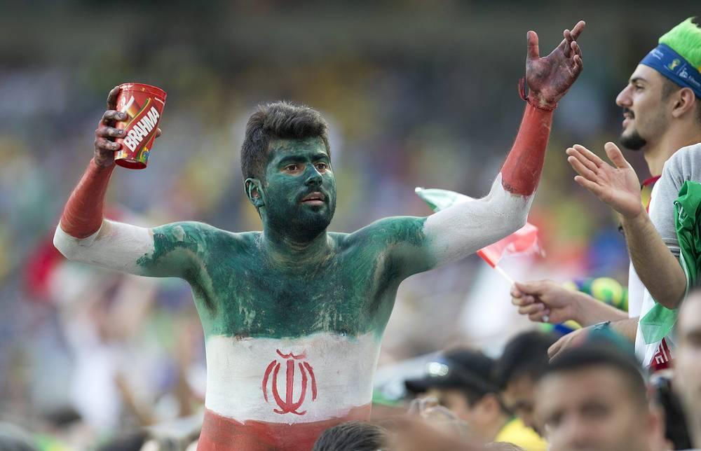 За Иран всем телом